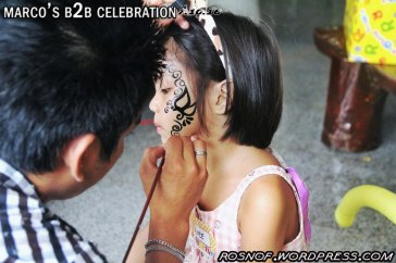 Venue Set Up 6: Face Painting_1